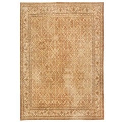 Shabby Chic Antique Tabriz Persian Rug