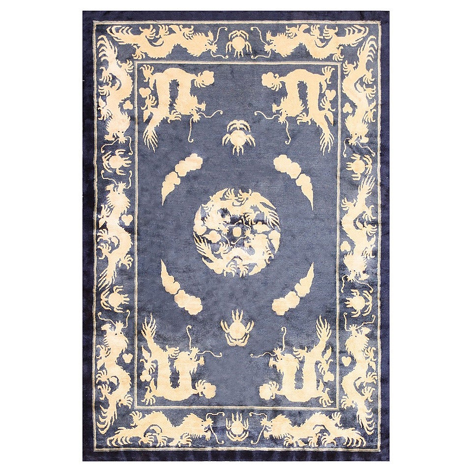 Chinese Carpets And Rugs: Antique Chinese Dragon Rug For Sale At 1stdibs