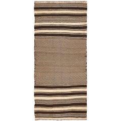 Vintage Moroccan Flat-Weave Kilim