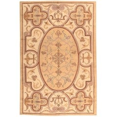 Vintage Art Deco French Rug