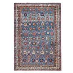Antique Oversized Persian Malayer Rug