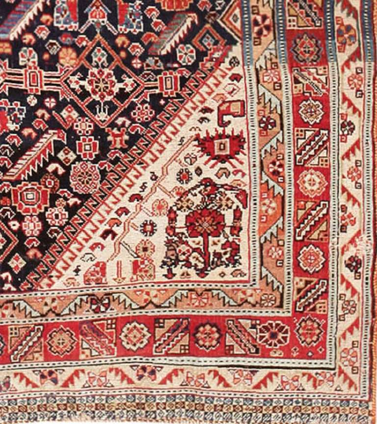 Persian Tribal Rugs: Antique Persian Tribal Qashqai Rug At 1stdibs