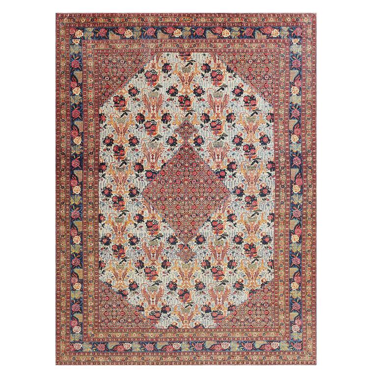 Modern Persian Tabriz Design Rug 44687 Nazmiyal Antique Rugs: Fine Antique Persian Tabriz Carpet At 1stdibs