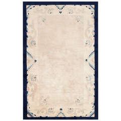 Antique Ivory Chinese Carpet
