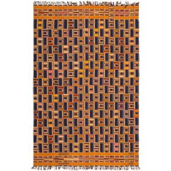 Antique African Ewe Kente Textile