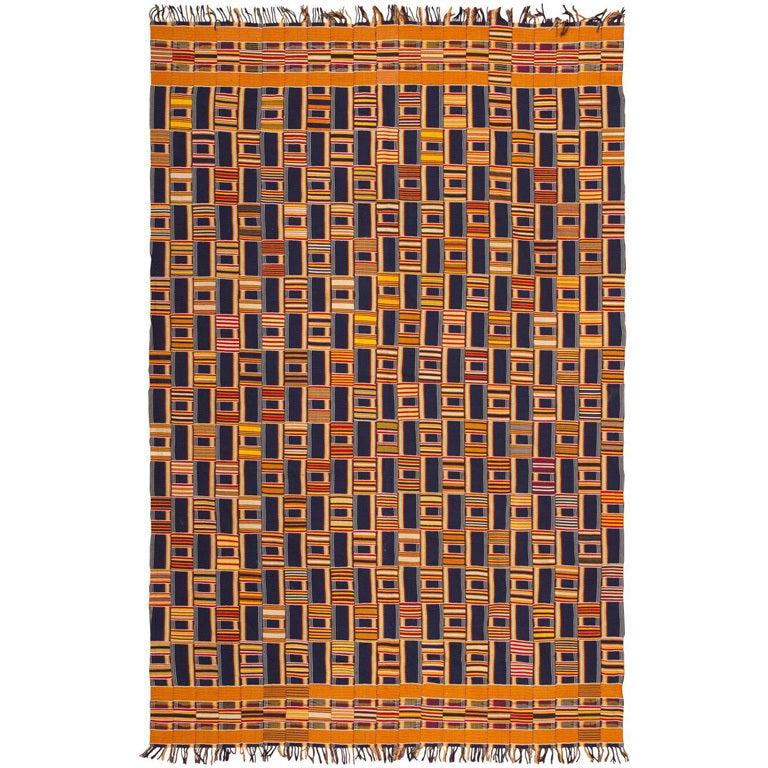 Antique African Ewe Kente Textile