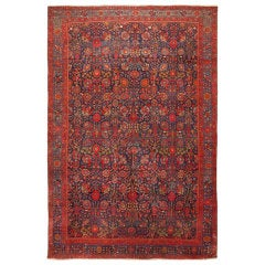 Antique Persian Kurdish Bidjar Carpet