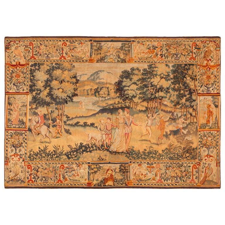 Antique Tapestry from Belgium