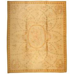 Antique Savonnerie French Rug