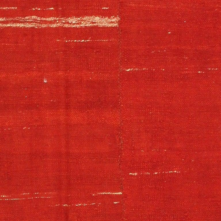 Wool Antique Persian Mazandaran Kilim. Size: 6 ft x 8 ft (1.83 m x 2.44 m) For Sale