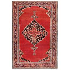 Fine Antique Persian Halvai Bidjar Rug