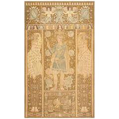 Antique Italian Tapestry Caesar Augustus