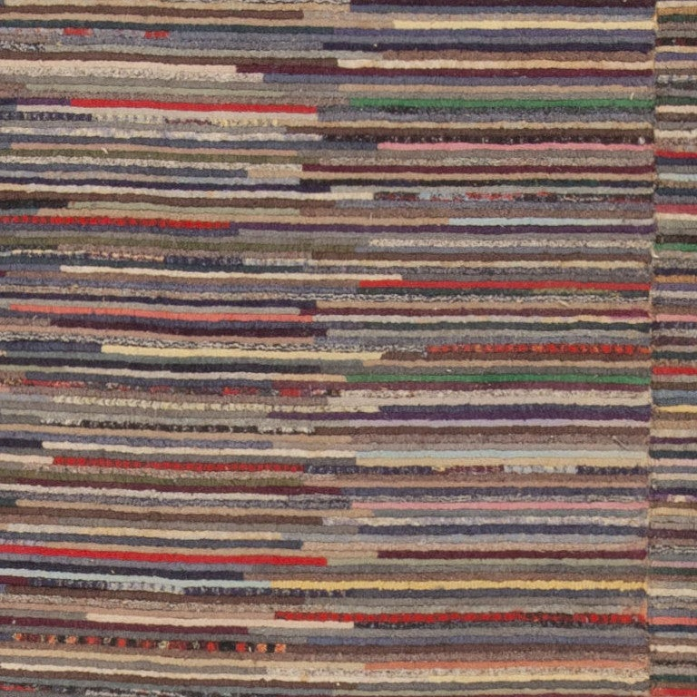 20th Century Early American Hooked Rug For Sale