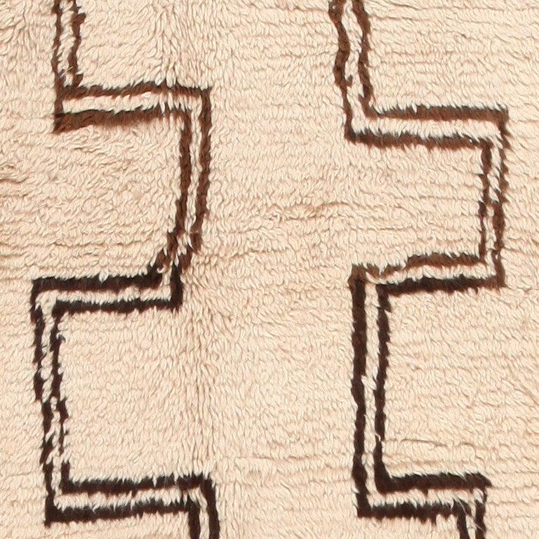 Wool Vintage Moroccan Rug