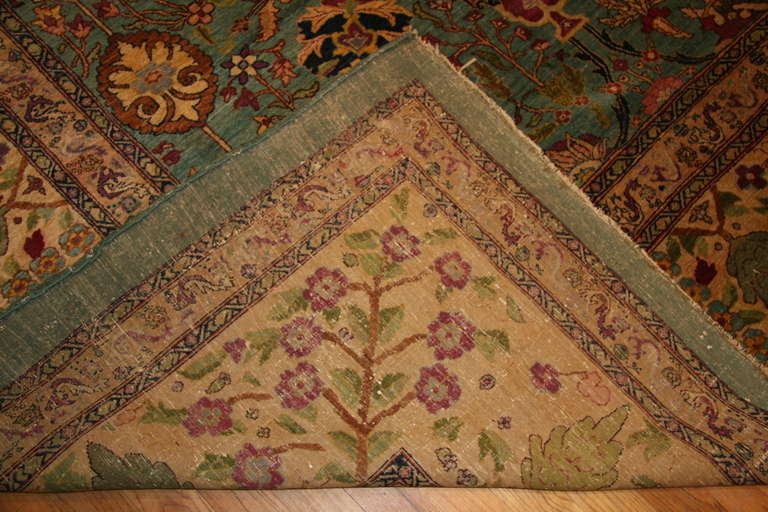 Antique Agra Rug For Sale 2