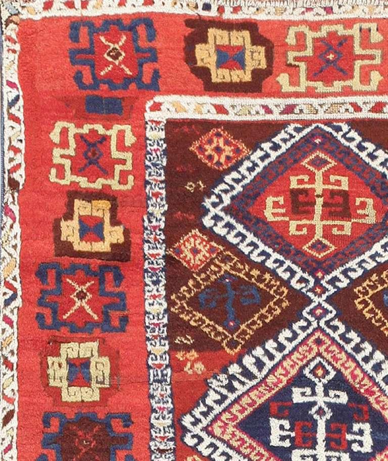 Antique Vintage Turkish Rugs: Antique Tribal Turkish Yuruk Rug For Sale At 1stdibs