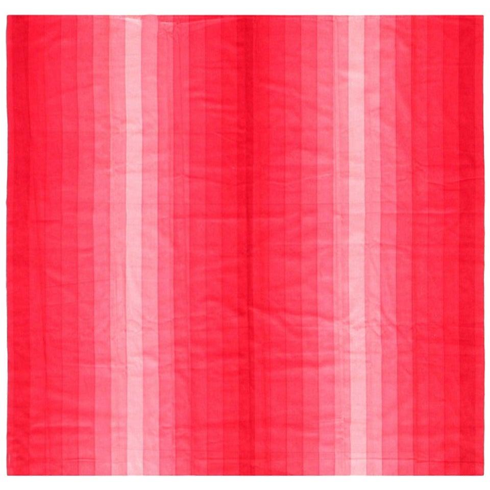 Vintage Verner Panton Gradient Textile in Pink