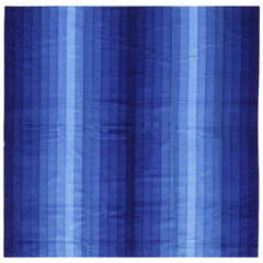 Vintage Verner Panton Gradient Textile in Blue