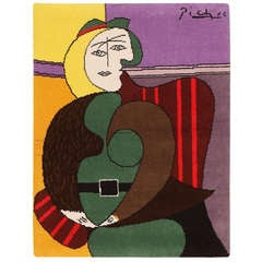 Vintage Pablo Picasso (after) Rug