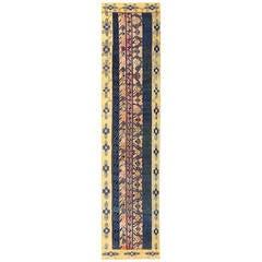 Antique Khotan Runner Rug from East Turkestan