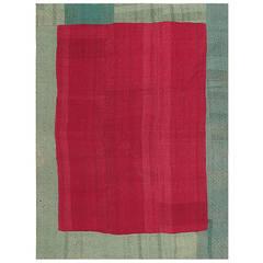 Antique Persian Mazandaran Kilim Blanket