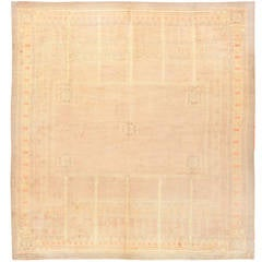 Beautiful Light Colored French Deco Rug