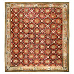 Antique French Aubusson Rug, circa 1850