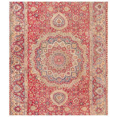17th Century Mughal Gallery Carpet