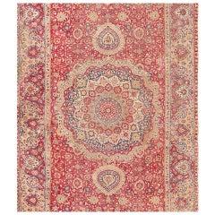 17th Century Mughal Gallery Carpet