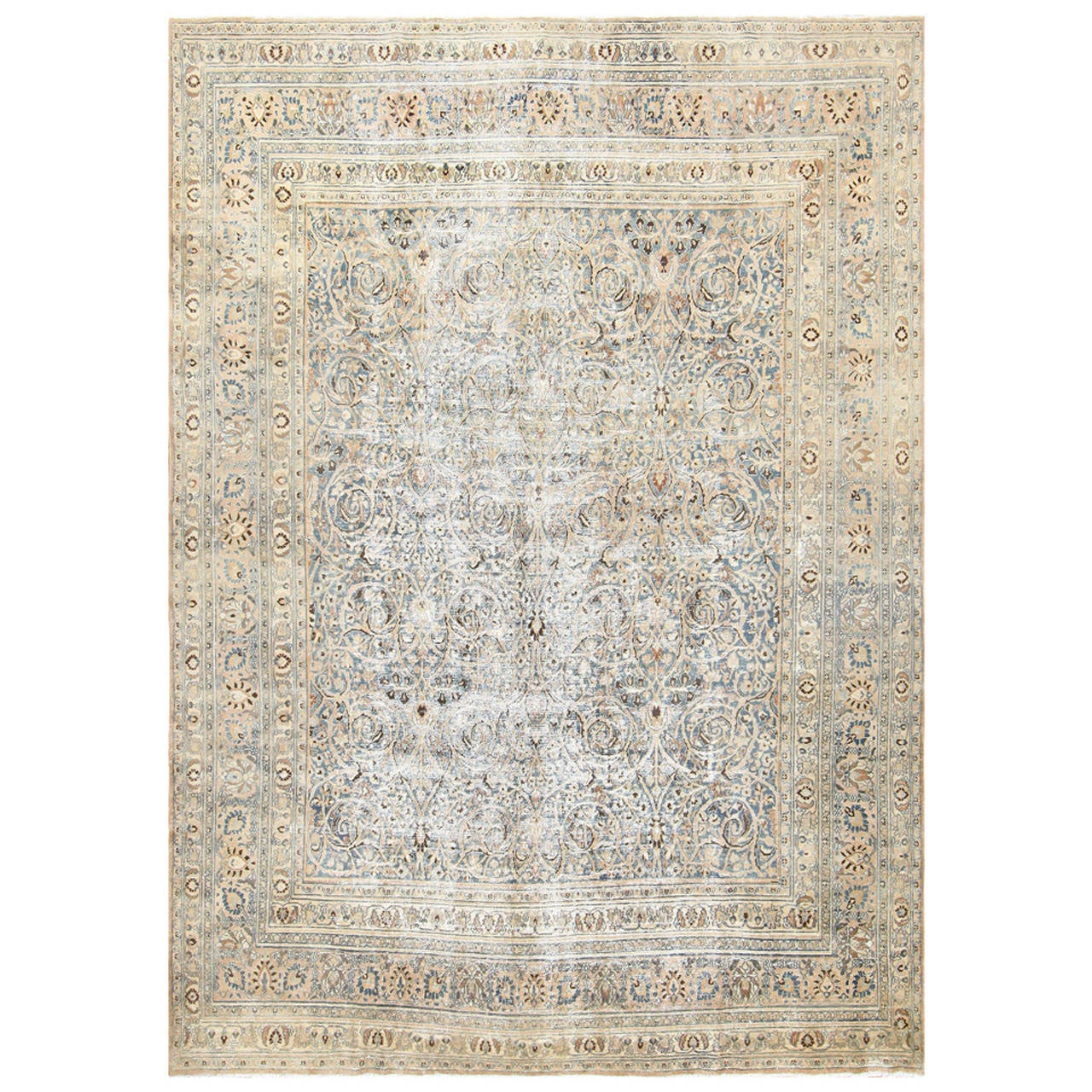 Shabby Chic Persian Khorassan Carpet