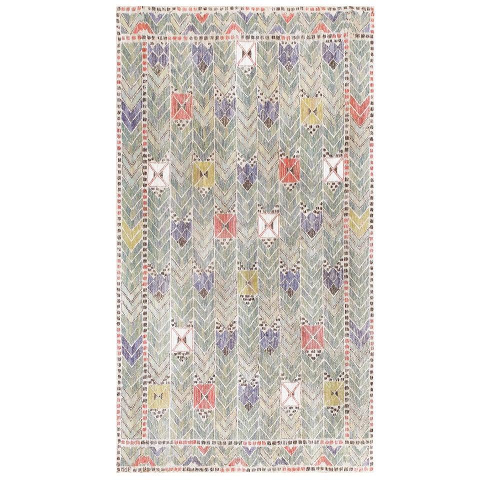 Vintage Marta Maas-Fjetterström Swedish Tapestry