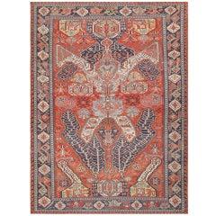 Antique Caucasian Soumak Carpet