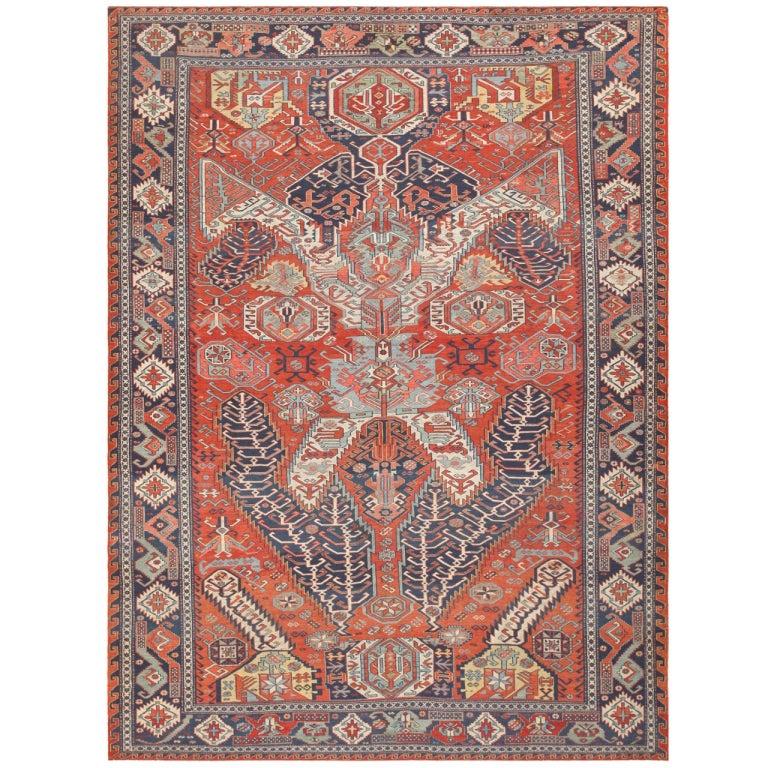 Antique Caucasian Soumak Carpet At 1stdibs