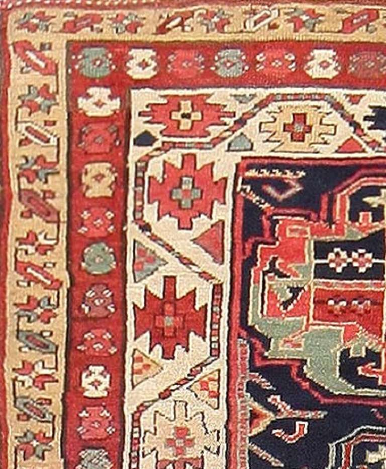 Here Is A Charming Antique Oriental Rug An Tribal Kurdish Piece Woven In