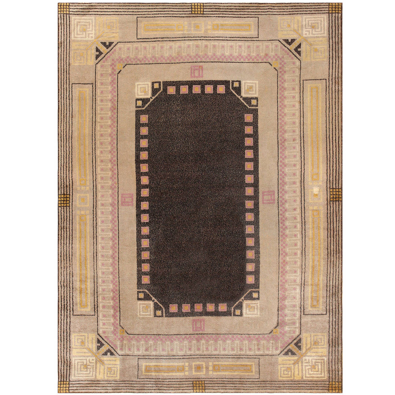 art deco carpet by josef hoffmann at 1stdibs