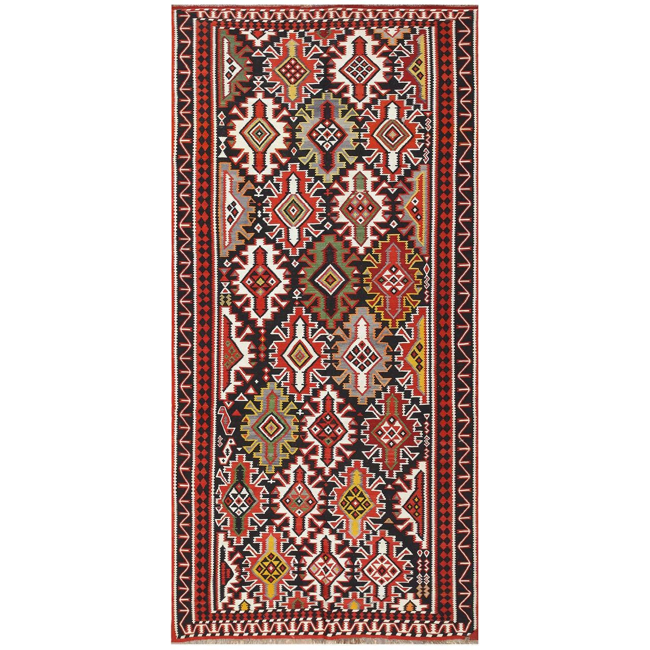 Caucasian Kilim Rug: Vintage Caucasian Kilim For Sale At 1stdibs