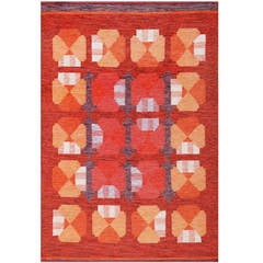Vintage Finnish Carpet by Alestalon Mattokutomo