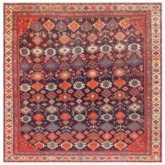 Square Antique Malayer Persian Carpet