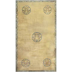 Beautiful Dragon Design Oversize Antique Chinese Carpet