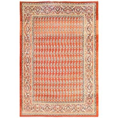Fine Antique All-Over Paisley Design Persian Tabriz Rug