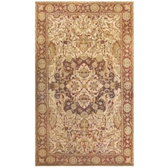Antique Amritsar Indian Carpet