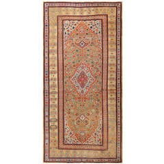 Antique Persian Farahan Carpet