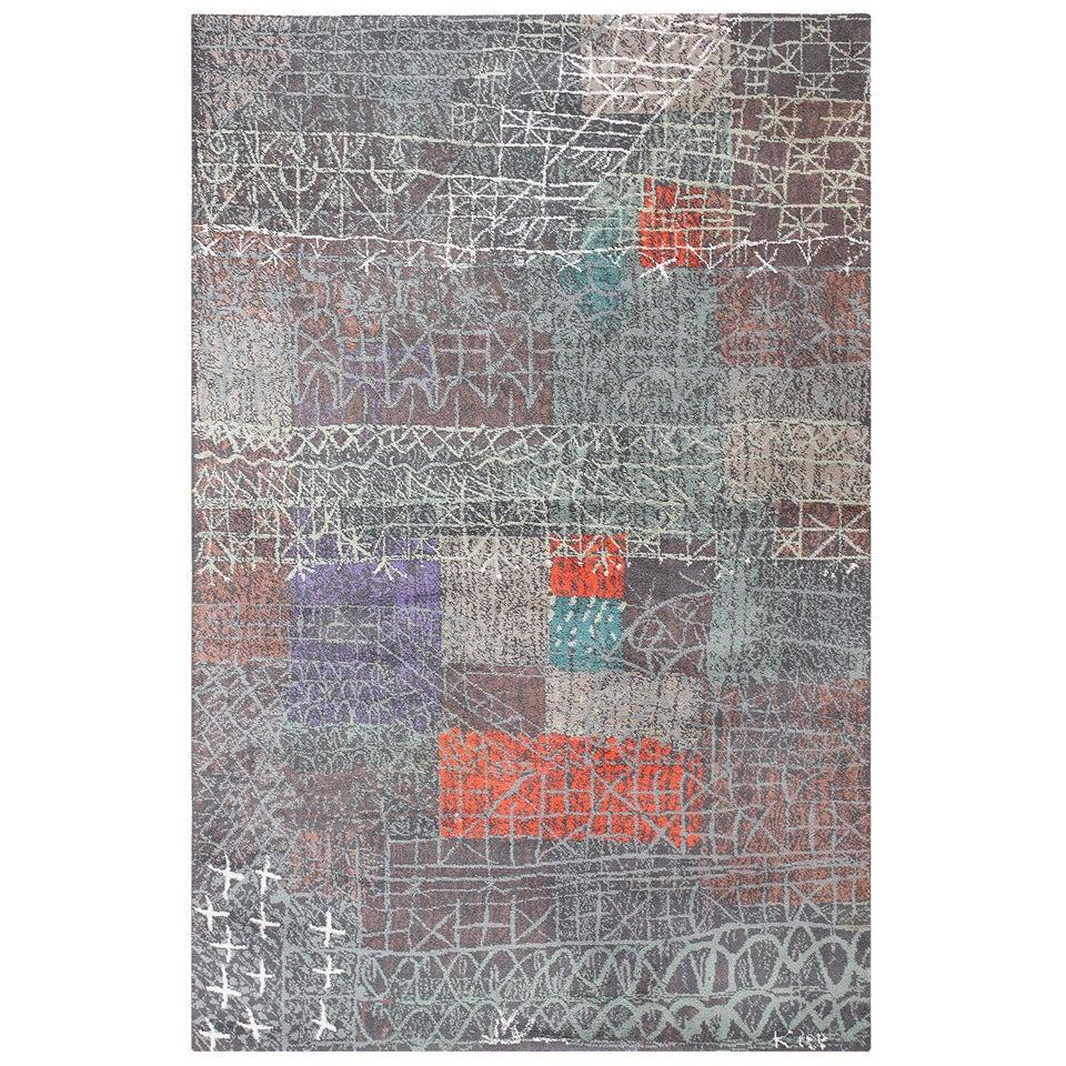 Vintage Paul Klee Carpet