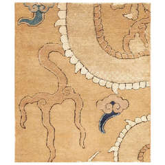 16th Century Ming Dynasty Dragon Chinese Carpet