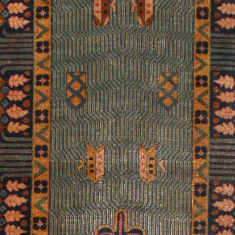 Room-Sized Antique Indian Carpet For Sale At 1stdibs