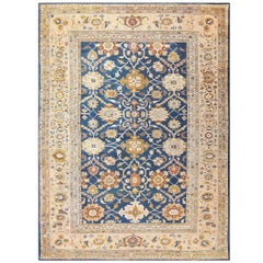 Antique Persian Sultanabad Carpet by Ziegler. Size: 13 ft x 17 ft 7 in