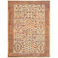Beautiful Antique Persian Bakshaish Carpet