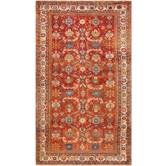 Antique Large Scale Persian Sultanabad Carpet. Size: 10 ft x 17 ft 5 in