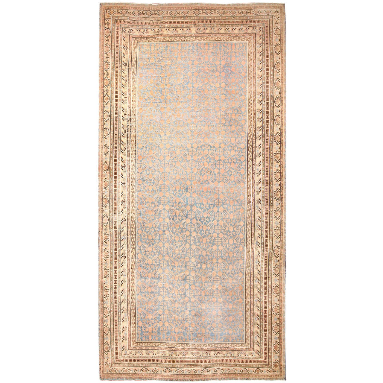 Antique Large Rug: Large Antique Khotan Rug For Sale At 1stdibs