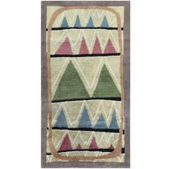 Scandinavian Art Deco Rug